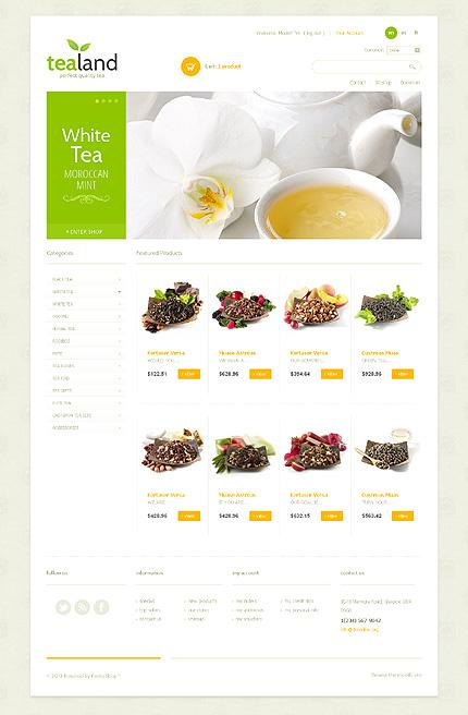 Tea land - Ultimate Tea Shop PrestaShop Theme