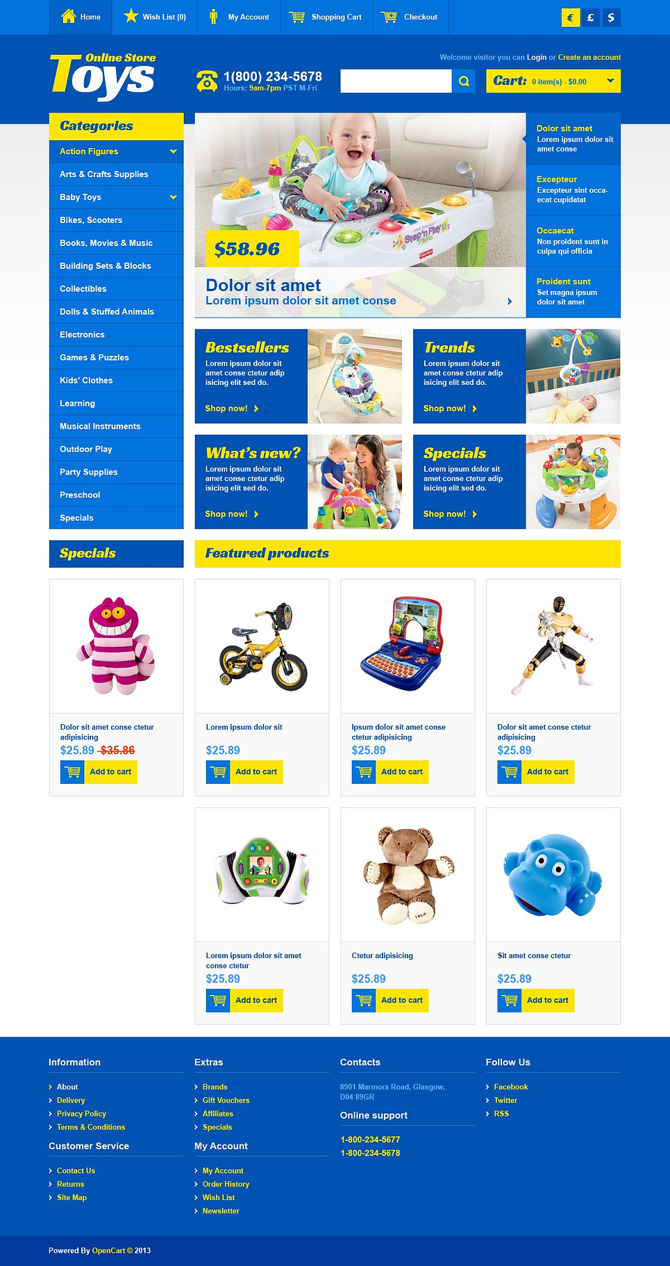 Toys Online Store