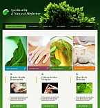 Facebook HTML CMS Template #44087