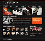 Stretched Flash CMS Theme #44108