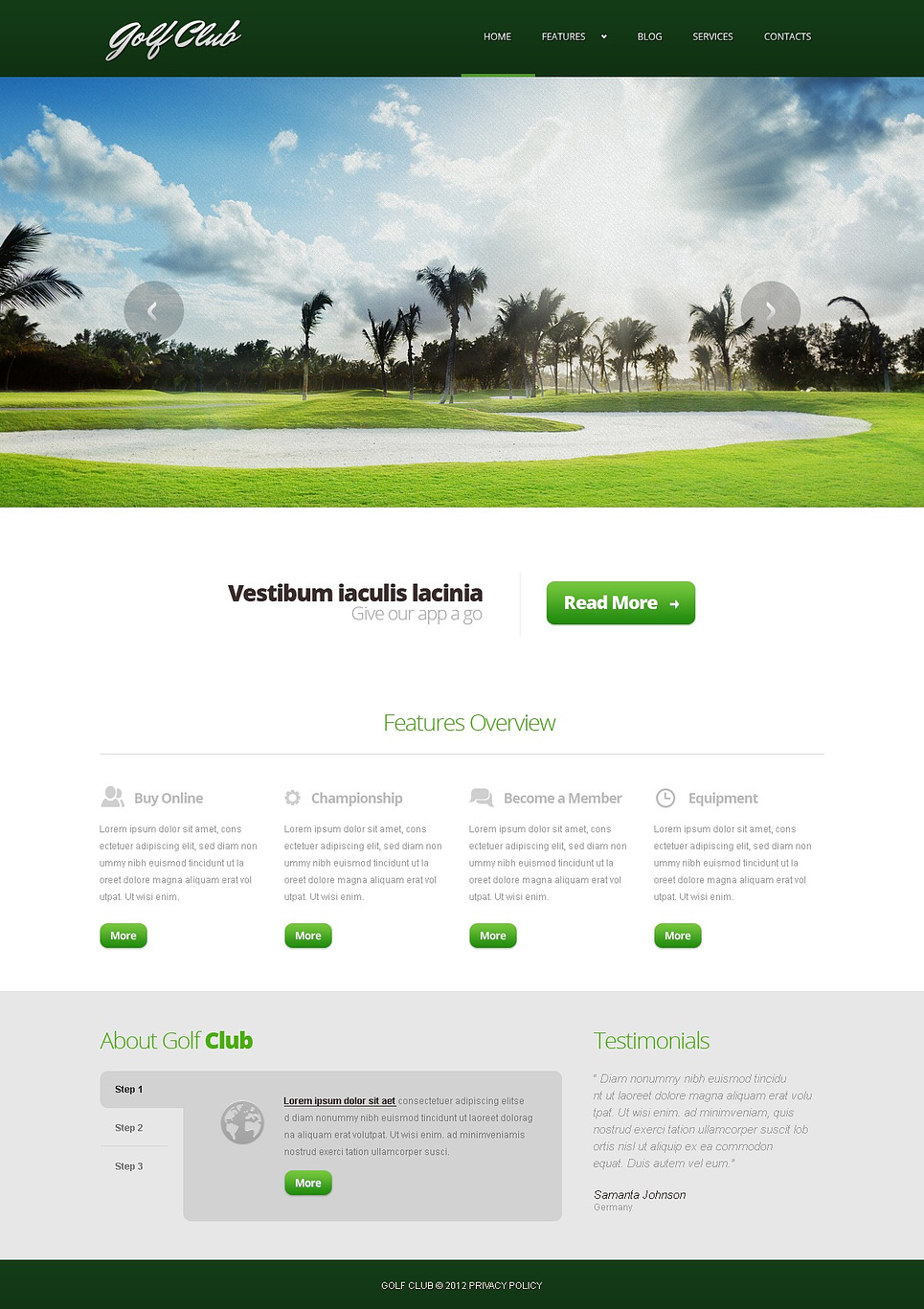 golf responsive joomla template web design templates website templates download golf. Black Bedroom Furniture Sets. Home Design Ideas