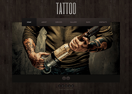 Tattoo - Best Responsive Joomla Template for Beauty and Fashion
