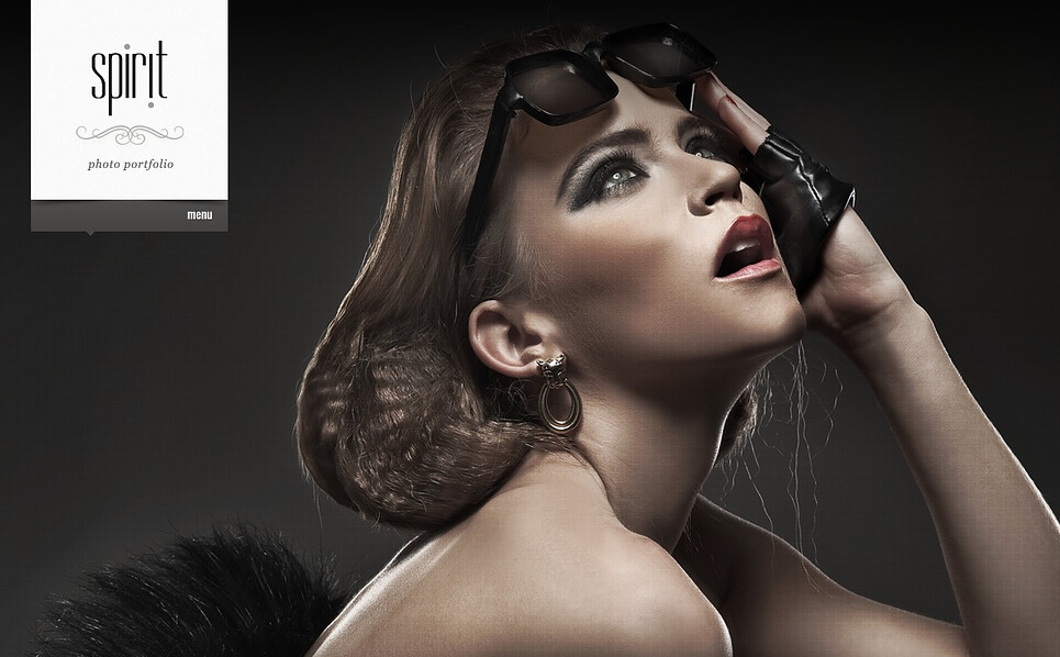 High-Resolution Photographer Portfolio Joomla Template New Screenshots BIG