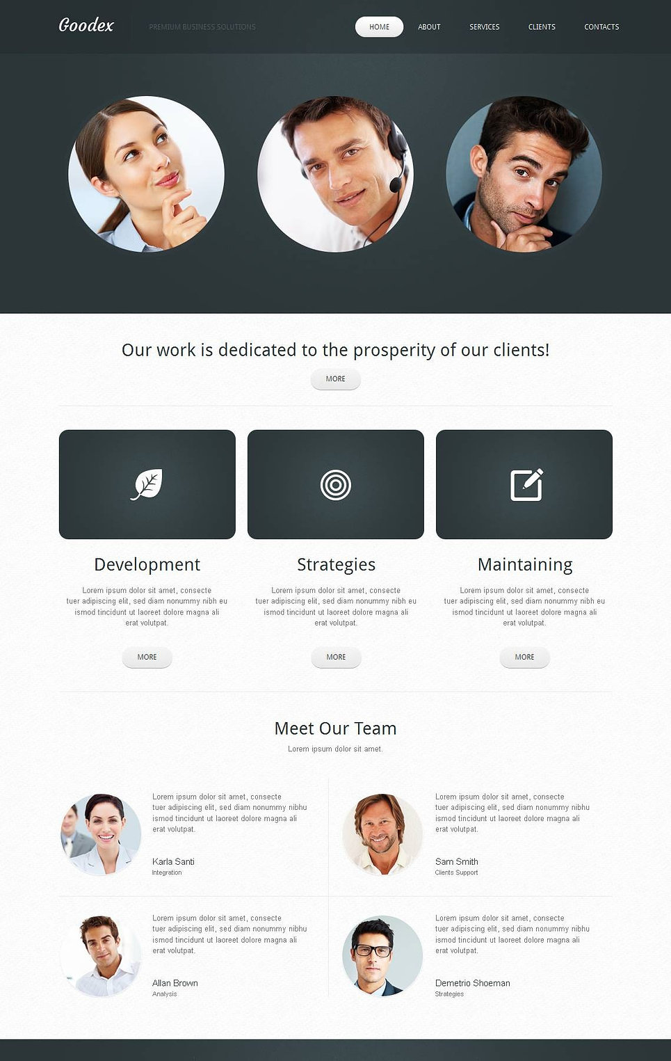 Clean Website Design for Business Companies - image