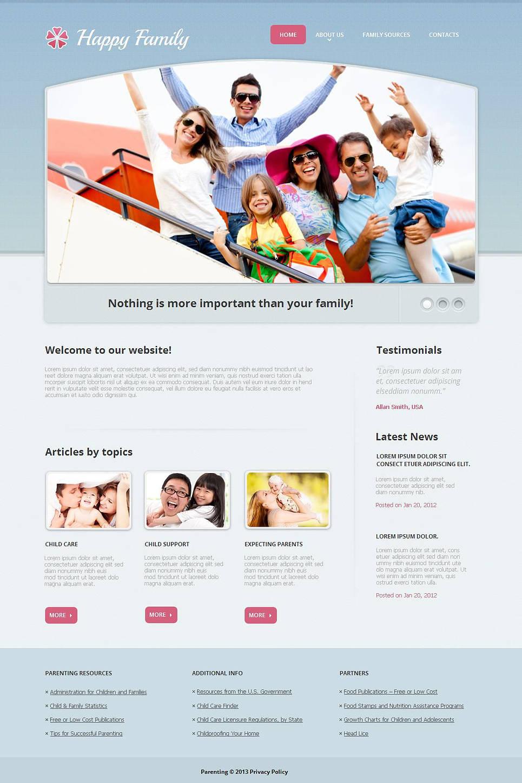 MotoCMS HTML Szablon #44222 z kategorii Rodzina - image