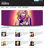 Responsive Tickets Store - PrestaShop Theme #44266 by Hermes