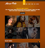 Drupal template #44301 by Sawyer