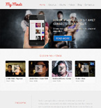 WordPress theme #44326 by Solomia