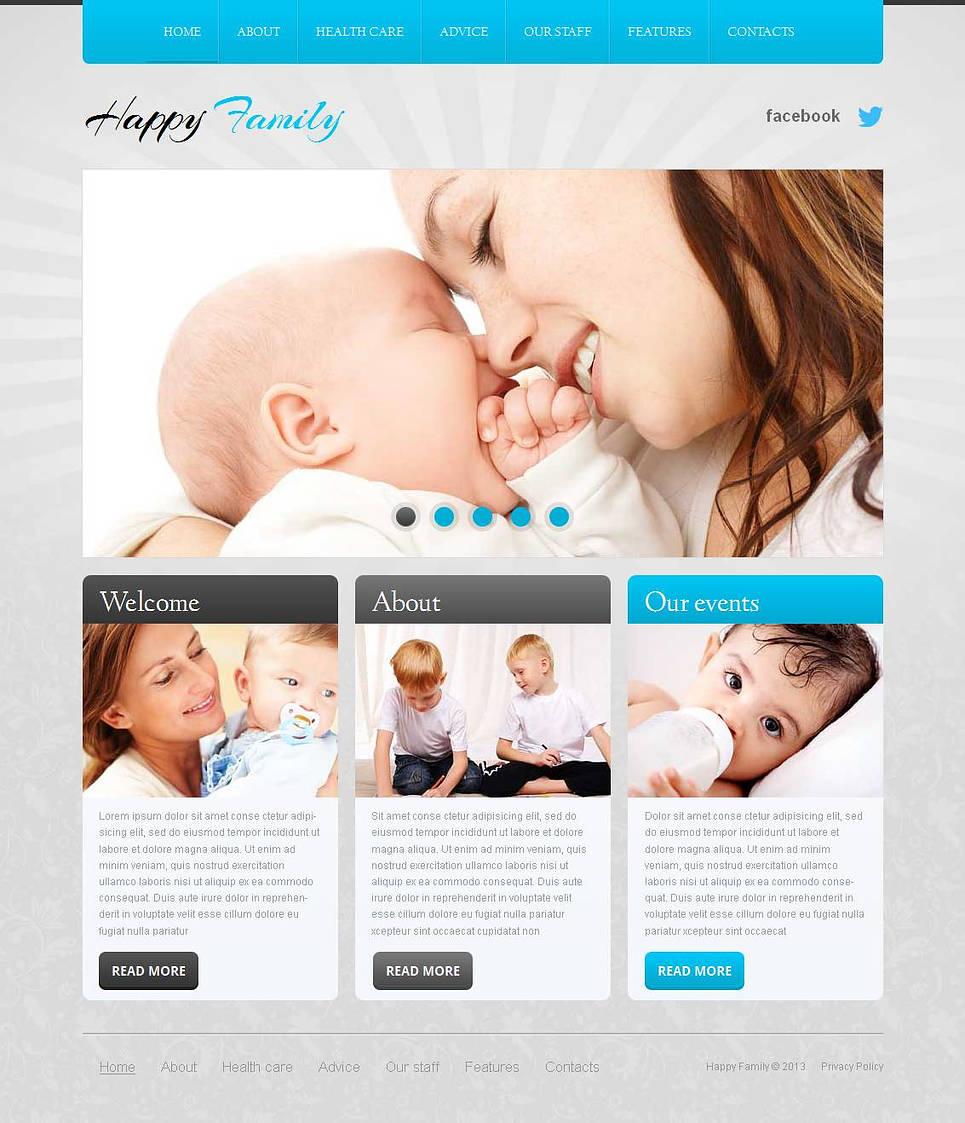 MotoCMS HTML Szablon #44343 z kategorii Rodzina - image