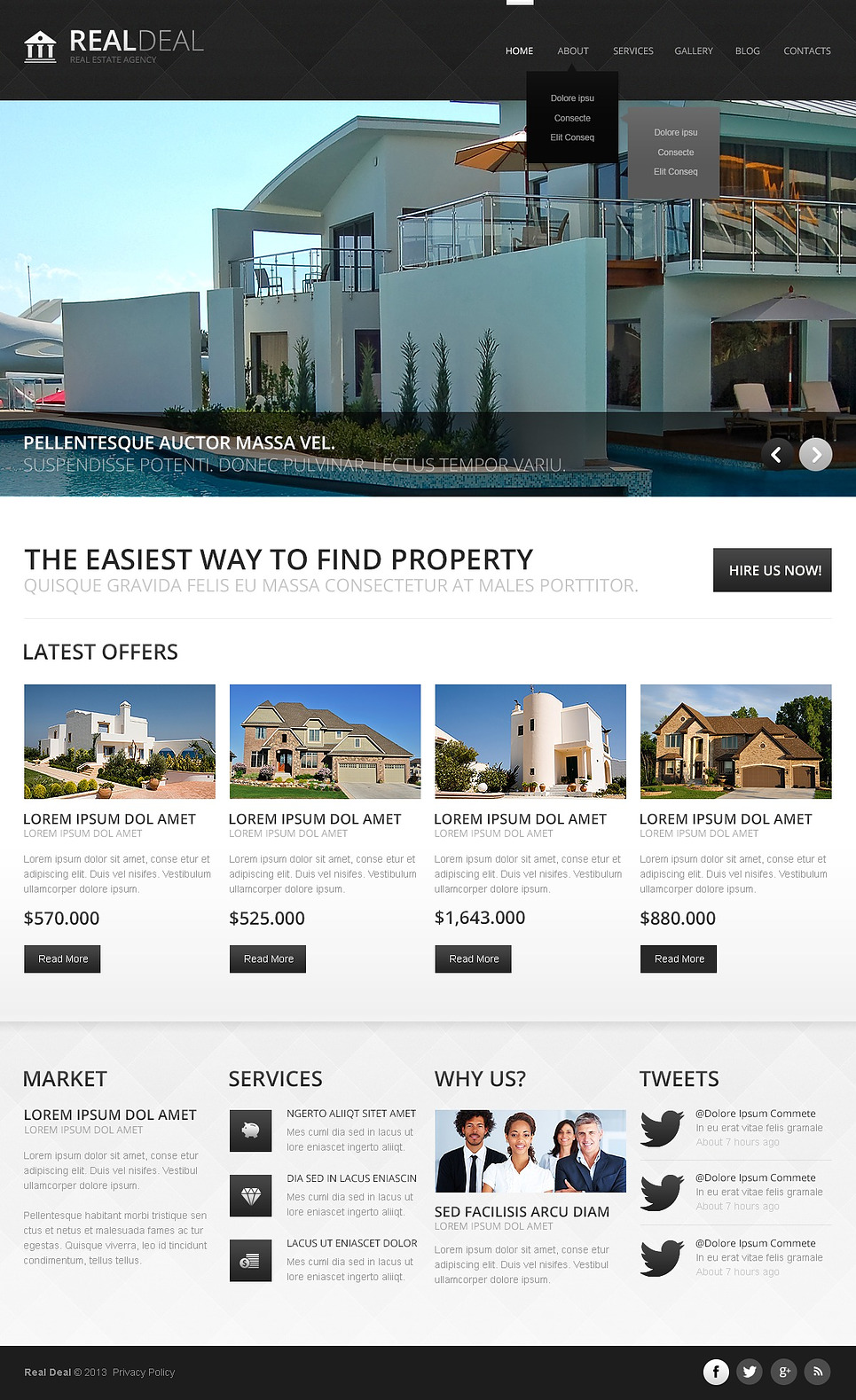 Fascinating Real Estate Joomla Template