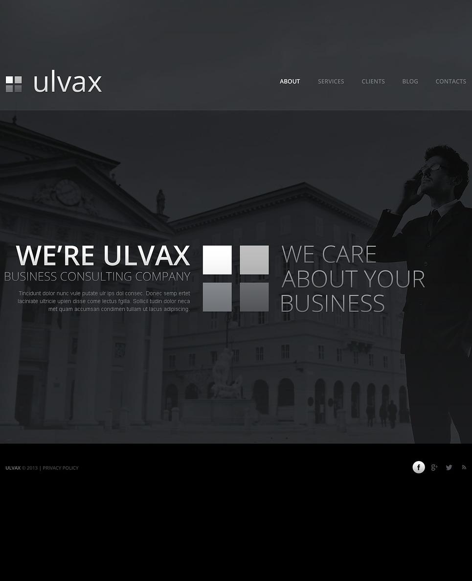 Ulvax-Responsive-Theme