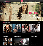 Website template #44399 by Angela