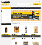 Responsive Wood Finishes Store - PrestaShop Theme #44403 by Hermes