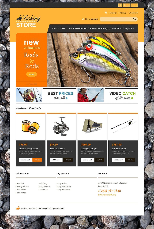 Fishing Shop - Ultimate Responsive PrestaShop Theme