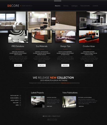 Website Template #44407