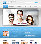Website template #44424 by Elza