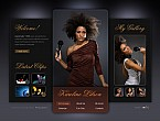 Flash CMS Template #44430