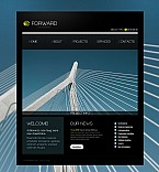 Stretched Flash CMS Theme #44433