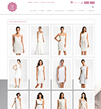 Responsive Wedding Dresses Store - PrestaShop Theme #44508 by Delta