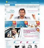 Stretched Flash CMS Theme #44523