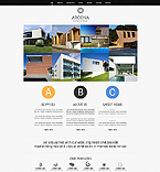 Website template #44532 by Di