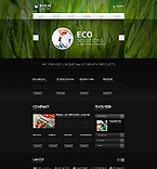 Website template #44545 by Ares