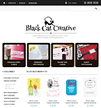 Responsive Cards Store - PrestaShop Theme #44553 by Delta