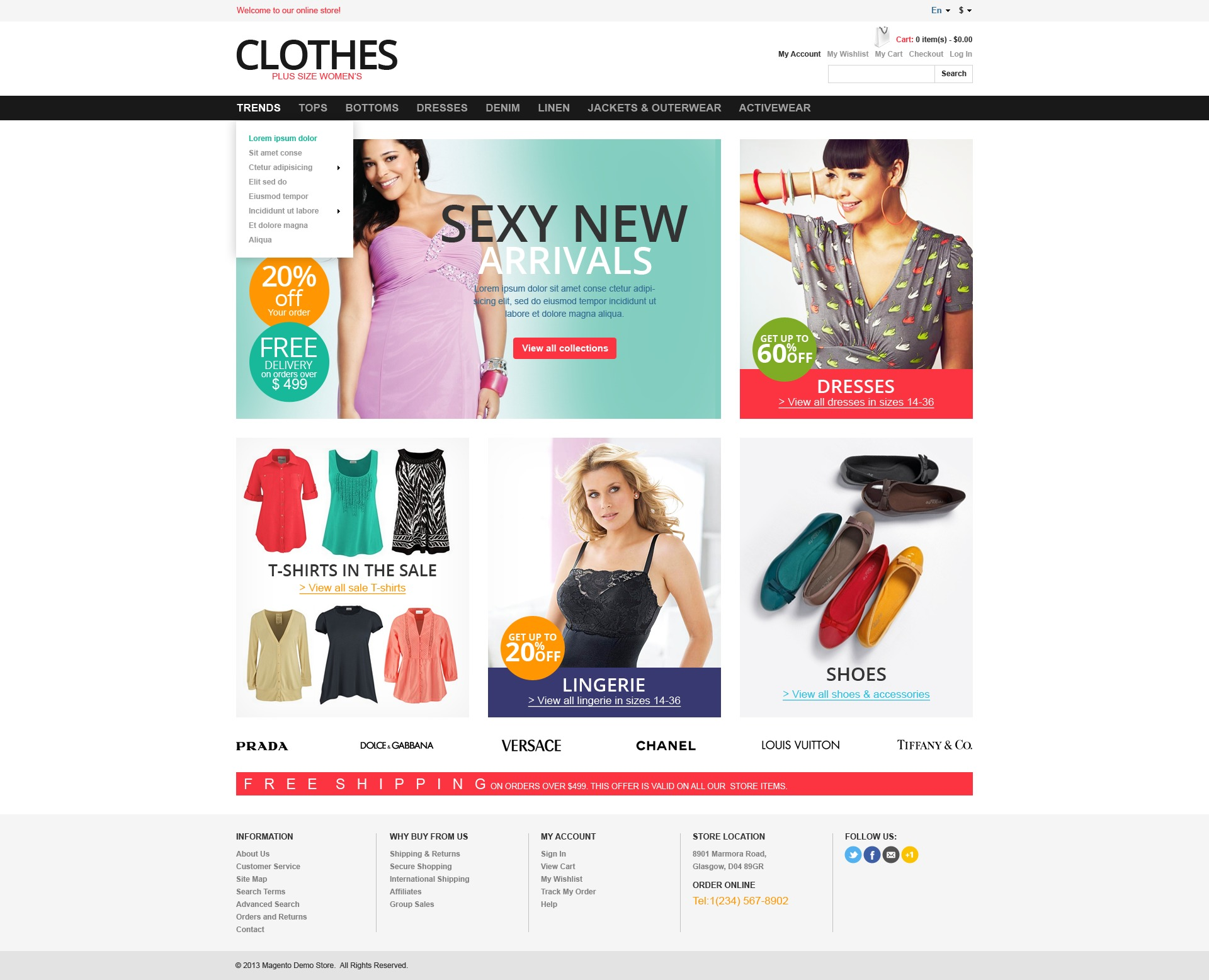 Shop Online For Plus Size Clothes
