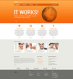 Website template #44573 by Cerberus