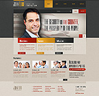 Website template #44574 by Glenn