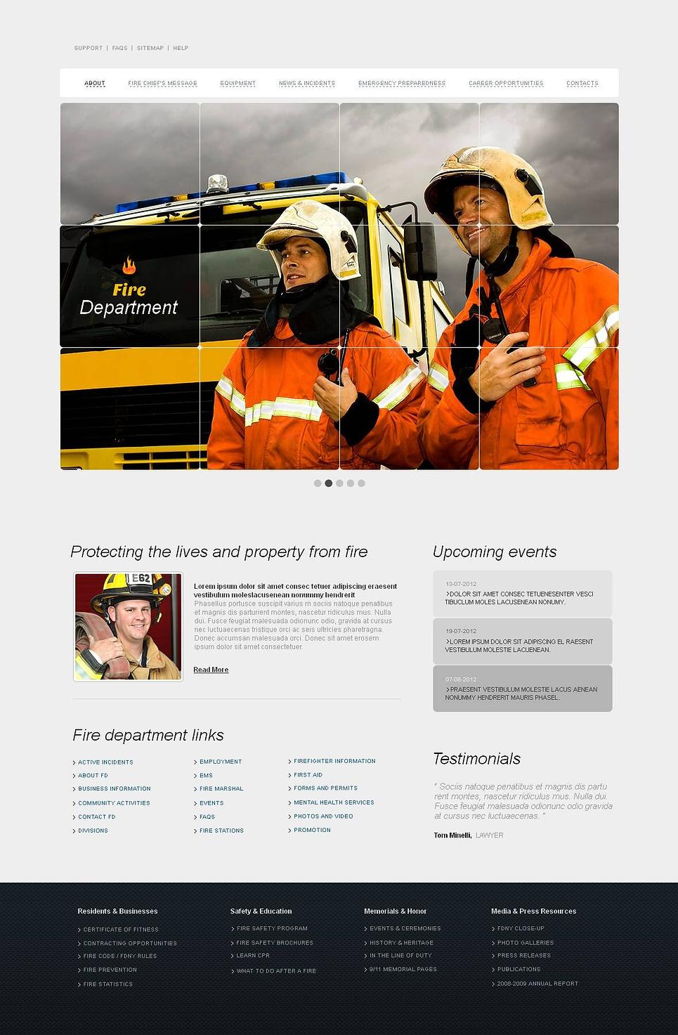 MotoCMS HTML Szablon #44616 z kategorii Biezpieczeństwo - image