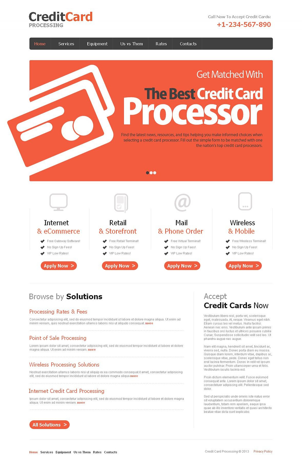 Business Website Template for Banks - image