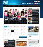 Stretched Flash CMS Theme #44679