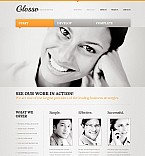 Flash CMS Template #44683 by Elza