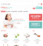 Responsive Children's Jewelry Store - PrestaShop Theme #44696 by Hermes