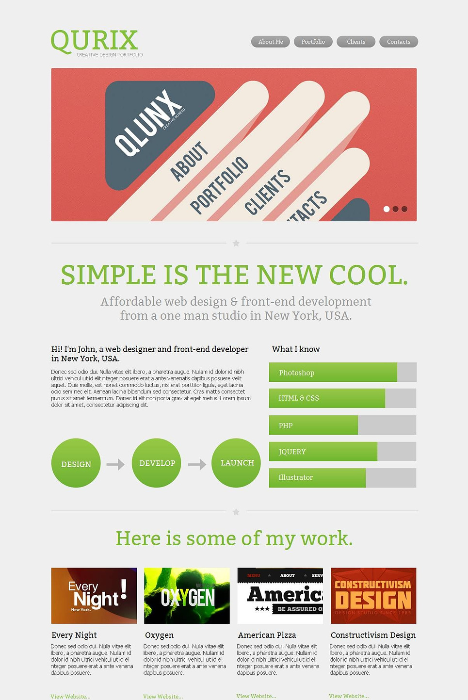 Clean Website Template with Well-Optimized Content Sections - image