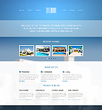 Website template #44749 by Ares