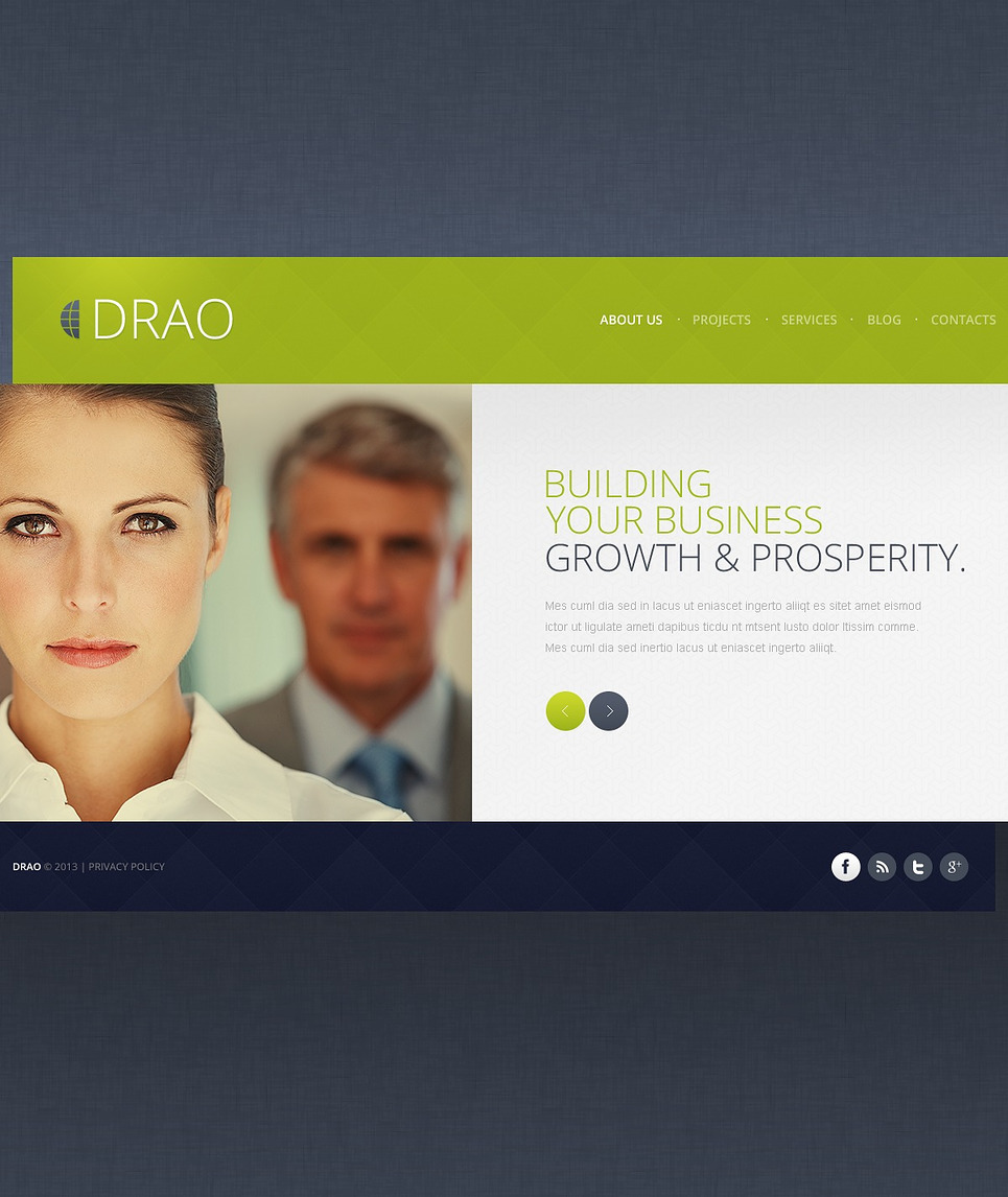 Drao-Responsive-Theme