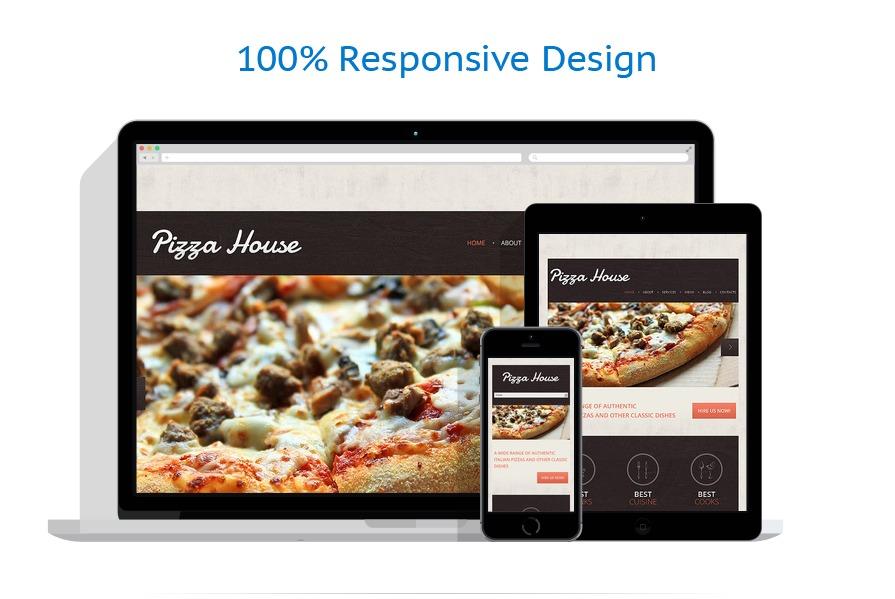 Contrast Pizza Drupal Template