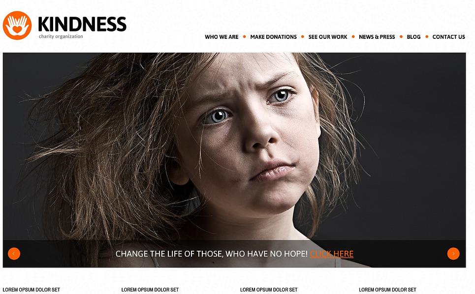 Charity Foundation WordPress Theme New Screenshots BIG