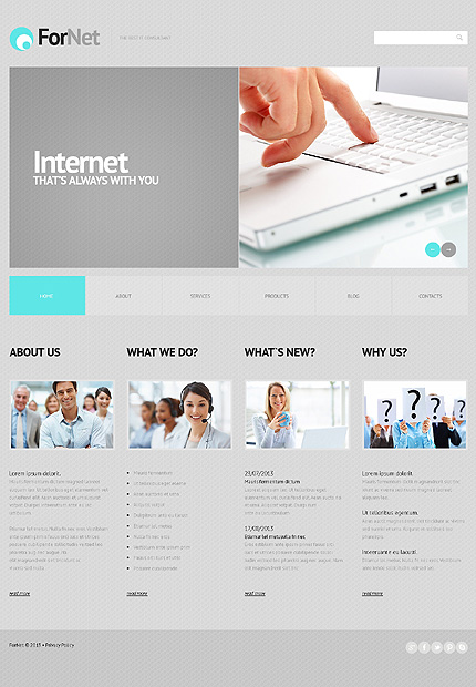 Fornet - Bootstrap Based Responsive Business WordPress Theme