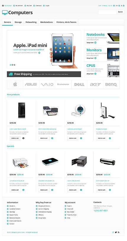 Computers - Remarkable Computer Store Magento Theme