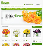 45055 Flowers OpenCart Templates
