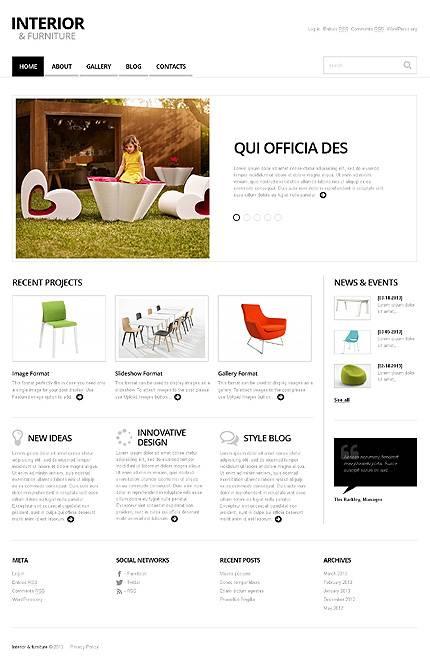 View live Demo for Minimalist Interior And Furniture - Responsive WordPress Theme