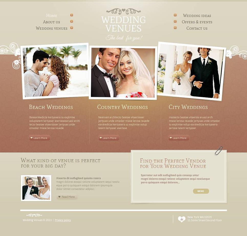 MotoCMS HTML Шаблон #45109 из категории Свадьба - image