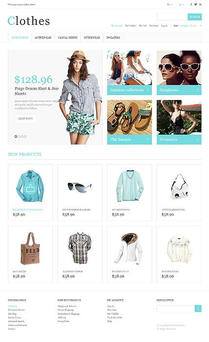 Clothes - Modern Responsive Clothes Magento Theme