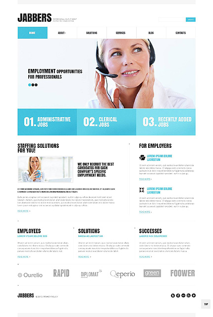 Jabbers - Bootstrap Based Responsive Business WordPress Theme