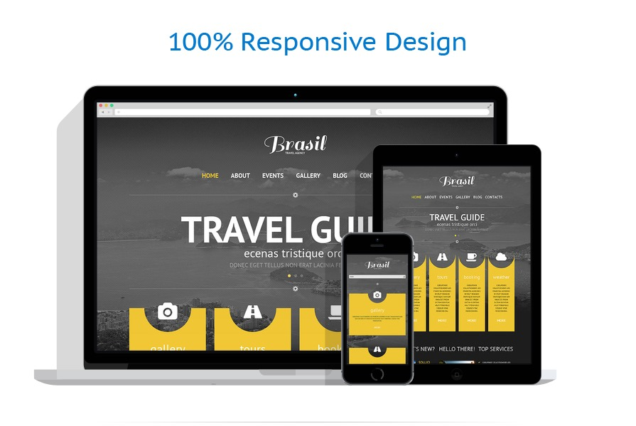 Original Travel Agency WordPress Theme