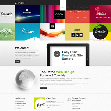 Portfolio sample free website templates for free download about (1 ...