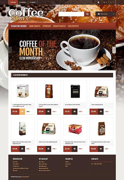 Coffee Store - Bootstrap Based Responsive Prestashop Theme